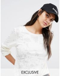Adolescent Clothing - Hungover Embroidered Baseball Cap - Black - Lyst