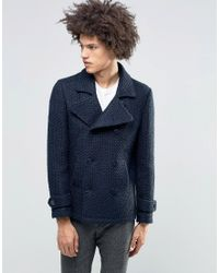 Féraud - Gianni Premium Textured Knitted Coat - Lyst