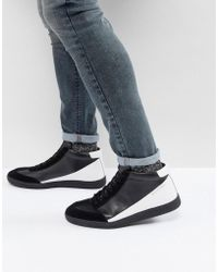 Religion - Blind High Top Trainers In Black - Lyst