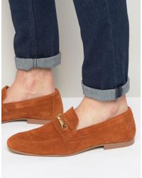 ASOS - Snaffle Loafer In Tan - Lyst