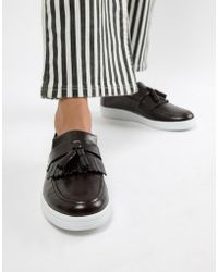 81b9aa559369 Fred Perry - X George Cox Tassle Loafer - Lyst