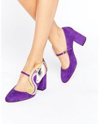Minna Parikka - Sparks Purple Unicorn Heeled Shoes - Lyst