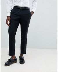 French Connection - Plain Suit Trousers - Lyst