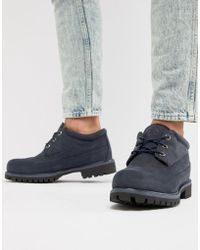 Timberland - X Engineered Garments Oxford Brogues In Navy - Lyst