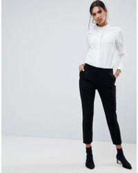 ASOS - Basic Jersey Smart Skinny Trousers - Lyst
