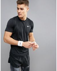 Nike - Miler Dri-fit T-shirt In Black 833591-010 - Lyst