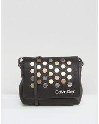 CALVIN KLEIN 205W39NYC - Ck Jeans Small Cross Body Bag - Black - Lyst