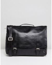 Royal Republiq - Essential Leather Messenger Bag - Lyst