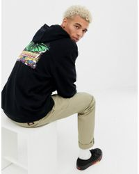 Santa Cruz - Grosso Demon Back Print Hoodie In Black - Lyst