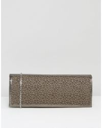 Lotus - Clutch Bag With Mesh Detail - Lyst