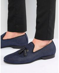 House Of Hounds - Alfred Tassel Dress Slippers - Lyst