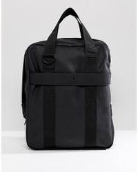 Rains - 1291 Utility Tote Bag In Black - Lyst