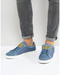 Ted Baker - Sarpio Trainers In Blue - Lyst