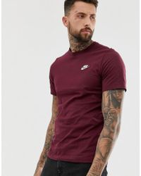 26bb1e422dbe0f Nike Nike Camo T-shirt In Black 864925-060 in Black for Men - Lyst