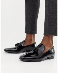Office - Imperial Tassel Loafers In Black Patent - Lyst