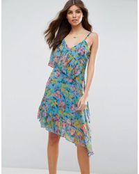 ASOS | Ruffle Tea Dress  | Lyst