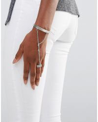 Low Luv by Erin Wasson - Silver Plated Hand Harness - Lyst