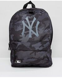 KTZ - Backpack Ny Yankees In Black Camo - Lyst