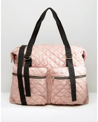 ASOS - Lifestyle Quilted Zip Pocket Holdall - Lyst
