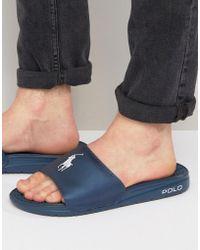 Polo Ralph Lauren - Rodwell Summer Slides - Lyst