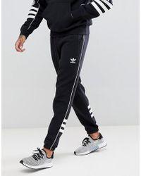 pretty nice 8e727 cc54e adidas Originals - Authentic Joggers In Black Dh3857 - Lyst