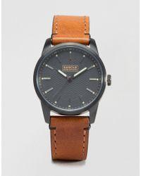 Barbour - Jarrow Leather Watch In Tan - Tan - Lyst