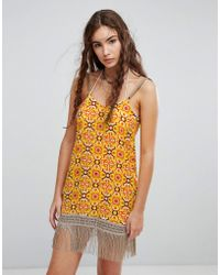 Maaji - Beach Dress In Abstract Print - Lyst