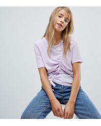 Pimkie - Ruched Detail T-shirt - Lyst