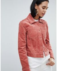 Weekday - Cord Trucker Jacket - Lyst
