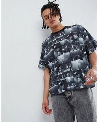 ASOS - T-shirt oversize con foto di Muhammad Ali stampata - Lyst