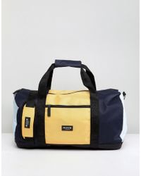 Nicce London - Nicce Carryall In Yellow Panels - Lyst