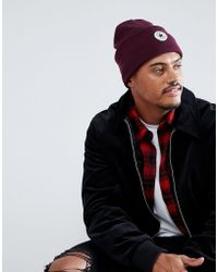Converse - Beanie In Red Con588 - Lyst
