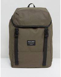 Jack & Jones - Backpack In Camo - Lyst