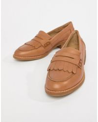 ALDO - Leather Loafers - Lyst