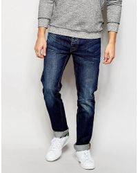 Bellfield - Stone Washed Jeans In Slim Fit - Lyst