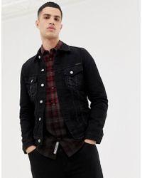 Nudie Jeans - Billy - Veste en jean - Noir délavé - Lyst