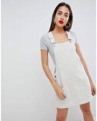 Liquor N Poker - Cord Overall Dress - Lyst