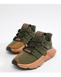 adidas Originals - Prophere Sneakers In Khaki And Copper - Lyst