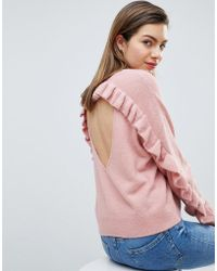 Ivyrevel - Jumper With Frill Back Detail - Lyst