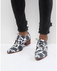 Jeffery West - Sylvian Rose Print Shoes - Lyst