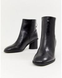 Bershka - Round Heel Boot - Lyst
