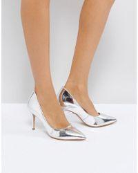 KG by Kurt Geiger - Kg By Kurt Geiger Bella Leather Court Shoes - Lyst
