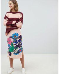 Essentiel Antwerp - Retro Bloom Skirt - Lyst