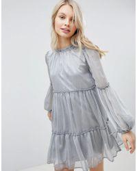 Glamorous - Smock Dress - Lyst