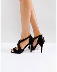 Miss Kg - Crossover Stiletto Sandal - Lyst