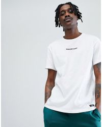 DC Shoes - Craigburn T-shirt With Chest Logo In White - Lyst