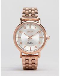 Breda - Blossom Bracelet Watch In Rose Gold - Lyst