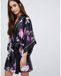 Ted Baker - B By Sunlit Floral Kimono - Lyst