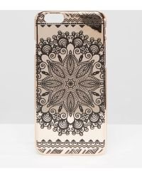 New Look - Paisley Print Iphone 6/6s Case - Pink - Lyst