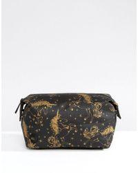Mi-Pac - Exclusive Unicorn Make-up Bag - Black/gold - Lyst